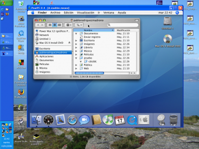 Mac OS X en Windows