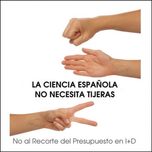 La ciencia española no necesita tijeras: no al recorte del presupuesto en I+D